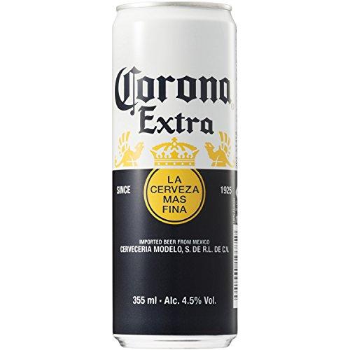 【世界で最も飲まれているプレミアムメキシカンビール】ビール コロナ・エキストラ 缶 [ ラガー メキシコ 355ml×24本 ]