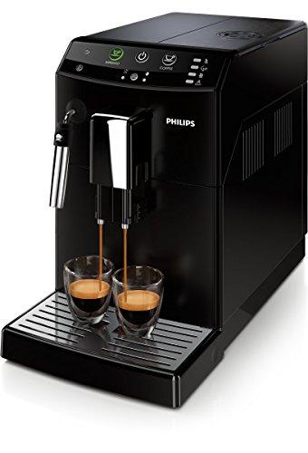 Philips 3000 Serie HD8821/01 Kaffeevollautomat (1850 Watt, klassischer Milchaufschäumer) schwarz
