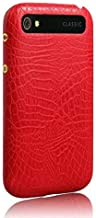 Blackberry classic Q20 Alligator Pattern case cover protective sleeve HM4 red
