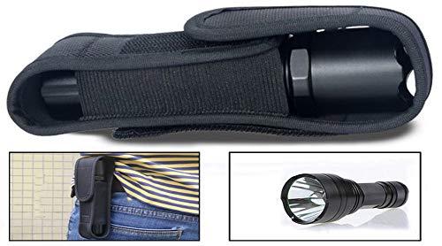 Demarkt® Funda Linterna Tapa Clip Cintura Cinturón