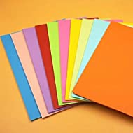 Cupcinu Cardstock Paper Pack Solid Core Textured Card Stock Custom Colors Matched Designs Card Making Crafting Scrapbook 20 Sheets