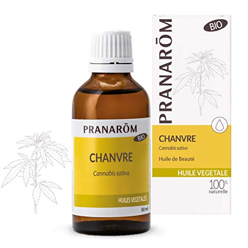 Pranarôm  Huile Végétale de Chanvre Bio (Eco) Naturellement Nourrissante 50 ml