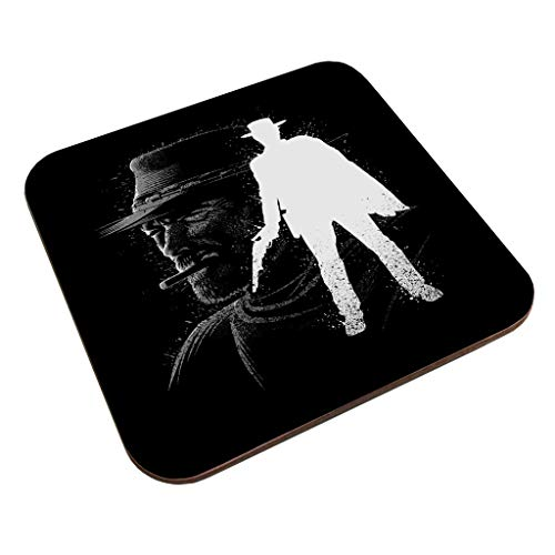 The Man With No Name Ink The Good The Bad And The Ugly Coaster