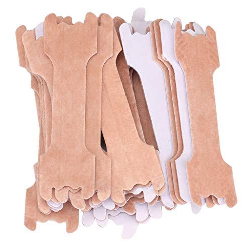 Milageto Almohadillas Nasales de Ventilación Natural para Aliviar Los Ronquidos Dormir Mejor - 100 Piezas, 7 x 6.5 x 2cm