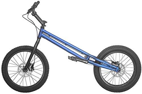 Leichtes, ausgefallenes Kletterrad für Erwachsene, geeignet für Anfänger und Fortgeschrittene, Straßen-BMX-Räder, Stunt-Action, Klettern, Fahrrad, 50,8 cm Räder, Lagerräumung (Farbe: Blau)