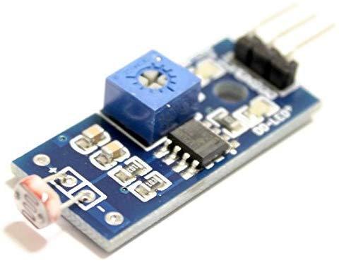 Módulo detector de luz con salida digital, fotodetector, sensor de luminosidad, sensor de luz para Arduino, Genuino y Raspberry Pi