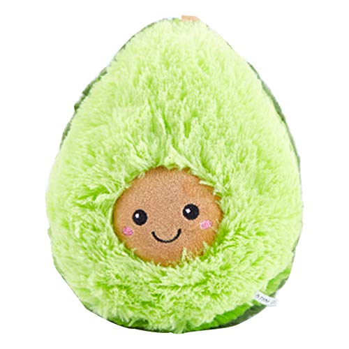 Awtlife Cute Stuffed Plush Avocado Toy Mini Comfort Plush Pillow Doll Cojín para Navidad Regalo de cumpleaños Dormitorio Sala de Estar 30CM