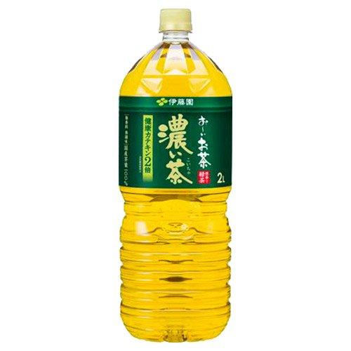 お〜いお茶 濃い味 2L×6本 PET