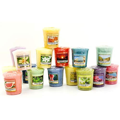 Yankee Candle 12 Official Mini Votive Samplers Assorted Spring Summer Fragrances