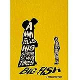 CINRYTN Carteles De Lona Cartel De La Película De Tim Burton Homedecal Pintura Etiqueta De La Pared para Café Bar Cartel E Impresiones Decoración del Hogar 50 * 70 Cm Sin Marco