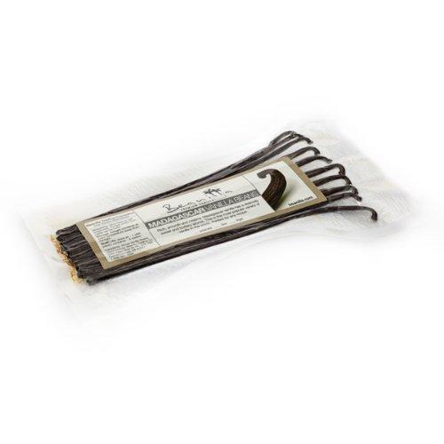 5 Madagascar Bourbon Vanilla Beans Package of 5