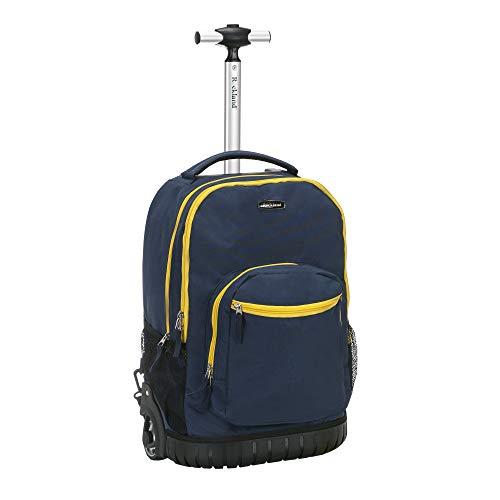 Rockland 19' Rolling Backpack, Navy