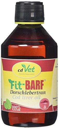 cdVet Huile de Foie de Morue Fit-Barf - 250 ML