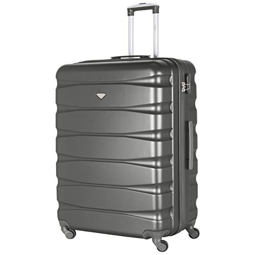 Flight Knight Lightweight 4 Wheel ABS Hard Case Suitcases Cabin & Hold Luggage Options Approved For Over 100 Airlines Including easyJet, British Airways, RyanAir, Virgin Atlantic, Emirates & Many More