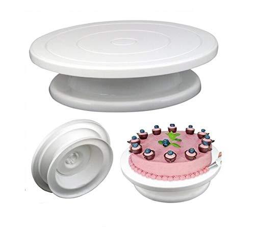 ANNIUP Soporte giratorio para tartas, soporte giratorio para tartas, soporte para decoración...