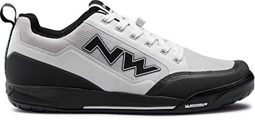 Northwave Clan MTB Dirt Fahrrad Schuhe weiß/grau 2021: Größe: 43