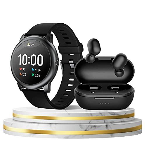 Kit Smartwatch Haylou Solar LS05 + Xiaomi Haylou GT1 Pró