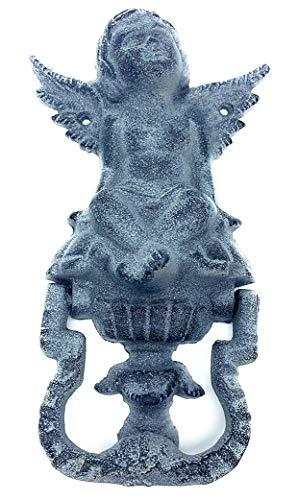 Türklopfer Gusseisen Engel Shabby Antik ca 20 cm Haustür Garten Eingangstür