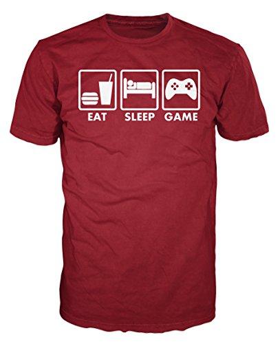 Haddaway - T-Shirt - Homme -  Rouge - Medium
