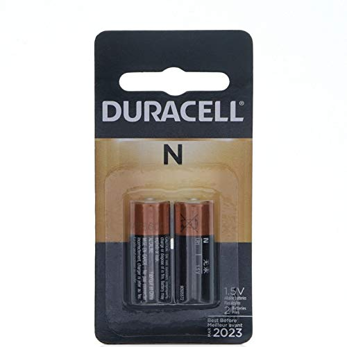 Price comparison product image Duracell Alkaline 1.5V Battery,  Size N 2 ea (Pack of 4)