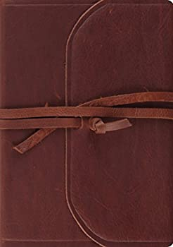 esv journaling bible leather