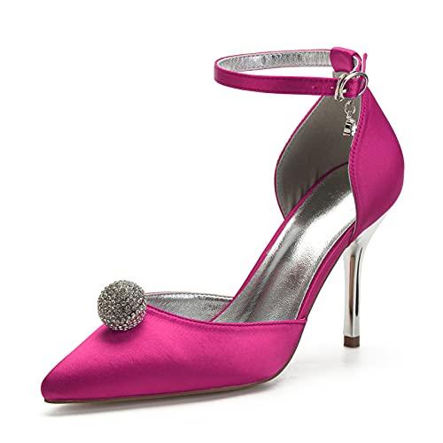 Sandalias de Vestir para Mujer, Moda Zapatos de Tacón de Punta con...