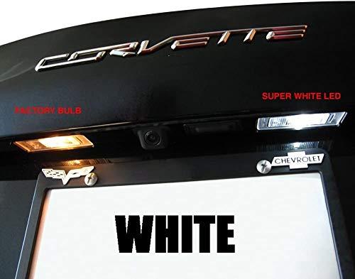 C7 Corvette - Rear Hatch & License Plate LED Lighting Kit : Stingray, Z51, Z06 (White)