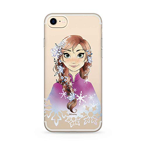 Ert Group DPCANNA661 Custodia per Cellulare Disney Anna 001 iPhone 7/8