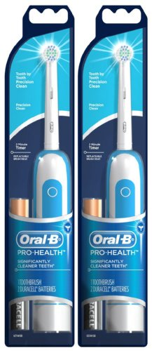 Oral-B Pro-Health Precision Clean Battery Toothbrush, 2...