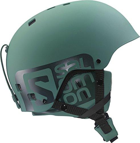 Salomon, Unisex Park and Pipe-Ski- und Snowboardhelm, ABS Schale, EPS Innenschale, Gr. XS, Kopfumfang 53,5-54,5 cm, BRIGADE, Khaki, L37776600