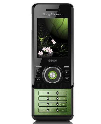 Sony Ericsson S500i - Teléfono móvil deslizante (cámara de fotos, Bluetooth, sonidos en formato MP3, ranura de tarjeta de memoria Memory Stick PRO Duo), color amarillo