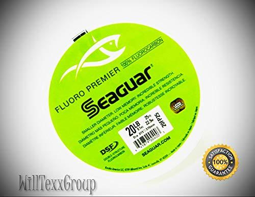 WillTexxGroup 20FP25 Clear Fluoro Premier 25 Yds 20 Lbs...