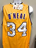 Shaquille O'Neal Los Angeles Lakers Signed Autograph Custom Jersey Shaq Diesel Embroidered Jersey BACK JSA Witnessed Certified