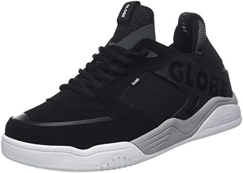 Globe Tilt EVO, Zapatillas de Deporte para Hombre, Negro (Black/White 000), 43 EU