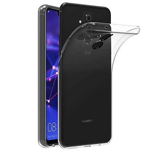 ivoler Funda Carcasa Gel Transparente para Huawei Mate 20 Lite, Ultra Fina 0,33mm, Silicona TPU de Alta Resistencia y Flexibilidad