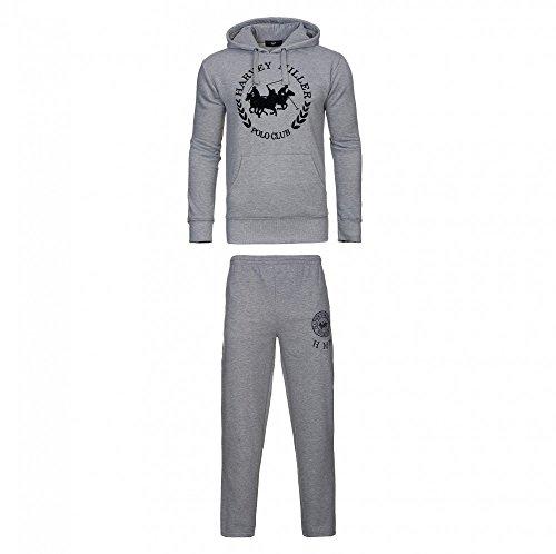 Harvey Miller Sweater mit Hose Trainingsanzug HRM4060 4054 Grey Melange W18-HMT1 Größe L