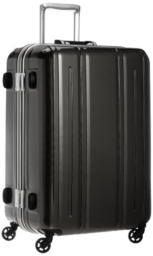[エバウィン] 軽量スーツケース Be Light 静音キャスター 容量82L 縦サイズ69cm 重量4.2kg 31226 BKC ブラ...