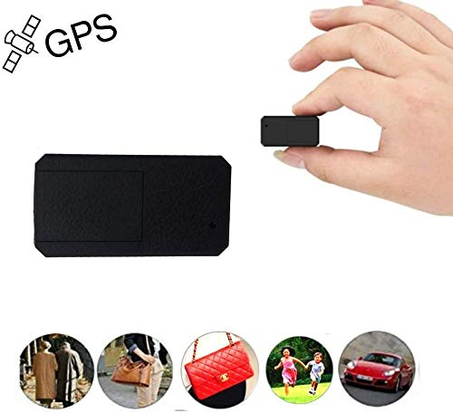 Winnes Mini GPS Tracker TKSTAR Anti-Theft Real Time Tracking on Free App Anti-Lost GPS Locator Tracking Device for Purse Bag Wallet Bags Kids Satchels Important Documents Luggage TK901