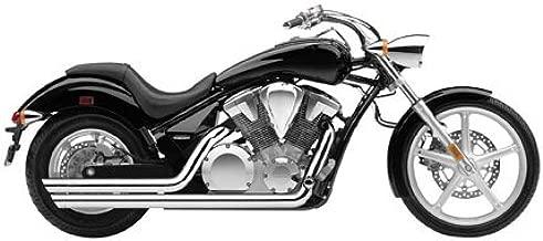 Cobra 04-09 Honda VTX1300C Speedster Slashdown Exhaust (Chrome)