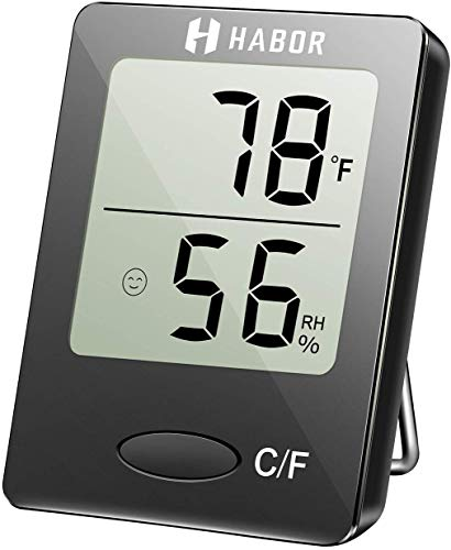 Habor Igrometro Termometro Digitale Termoigrometro LCD con...