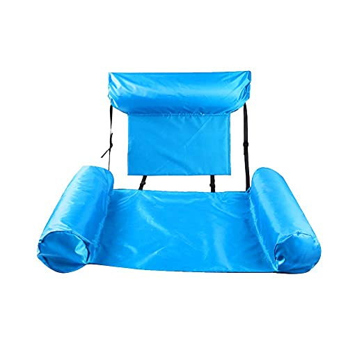Floating Row Swimming Pool Inflatable Foldable Water Hammock Bed (Green) BJY969 ( Color : Color6 )