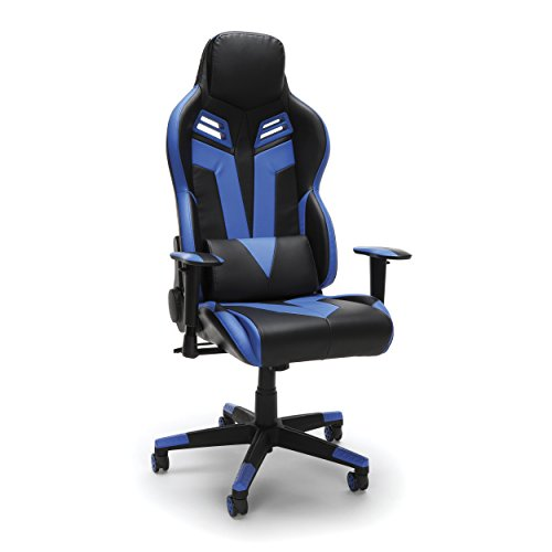 RESPAWN 104 Racing Style Gaming Chair, in Blue blue chair gaming