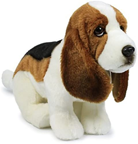 Anna Club Plush Basset Hound Soft Toy - 30cm by Anna Club Plush