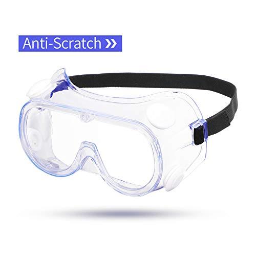 ENJOHOS Occhiali Protettivi Da Lavoro occhiali sicurezza Protezioni per gli occhi Occhiali di protezione Anti inquinamento