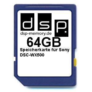 Tarjeta de Memoria Ultra High Speed para cámara Digital Sony DSC-WX500 (64 GB)
