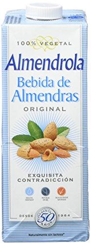 ALMENDROLA Bebida DE ALMENDRAS con AZUCAR 1 L, Estándar, ÚNICO, 1000