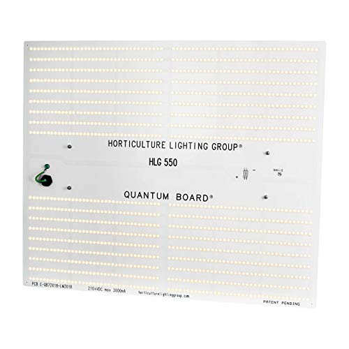 HLG 550 V2 ECO (3000K, 120 Volt) | Horticulture Lighting Group LED Grow Light Quantum Board | High Efficiency, Full Spectrum