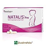 SanaExpert Natalis Pre, Suplemento Vitamínico para la Concepción y Mujeres en Embarazo con Ácido Fólico, Vitamina D, Hierro, Vitaminas para la Fecundación- 30 Cápsulas