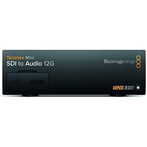 Blackmagic Design Teranex Mini SDI to Audio 12G | SD HD Ultra HD Supported Converter