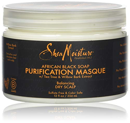 Karité Moisture African Black Soap Purification Masque 12 fl oz / 354 ml